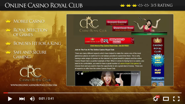 Casino Royal Club Video