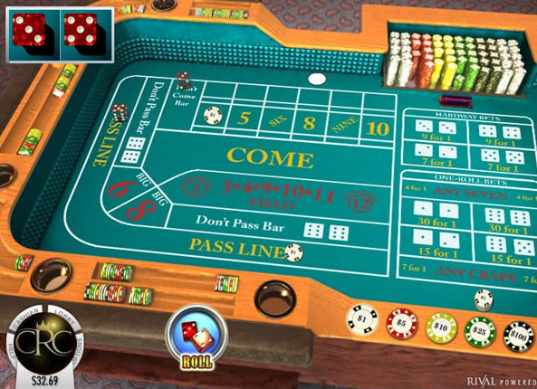 online vegas casino dice and roll