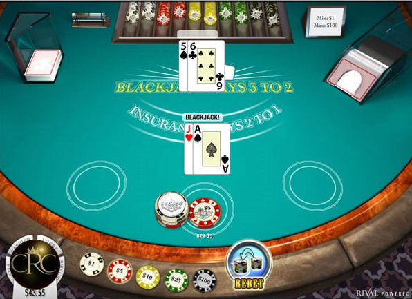 Plat blackjack