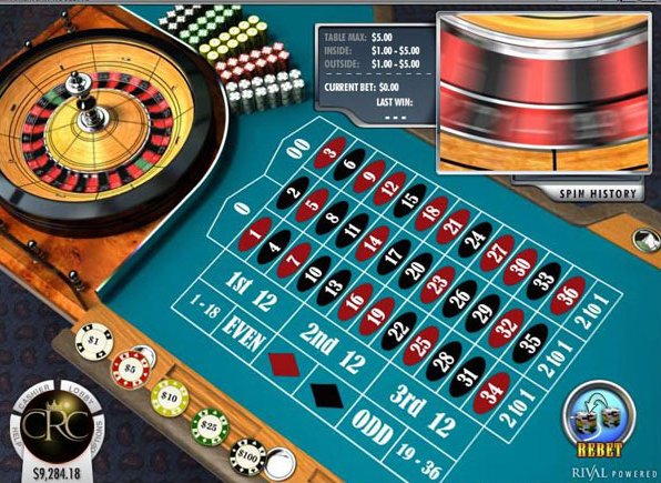 Play the online casino royal club roulette